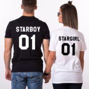 Starboy, Stargirl, Black/White, White/Black