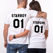 Starboy, Stargirl, White/Black