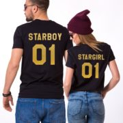 Starboy Stargirl Shirts, Matching Couples Shirts, UNISEX