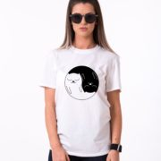 Yin Yang Kitties Shirt, Yin Yang Shirt, Cat Shirt, Unisex