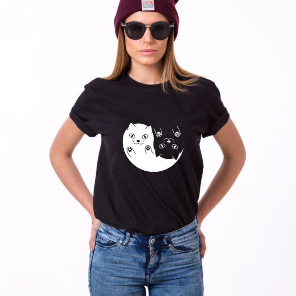 Yin Yang Kittens, Black