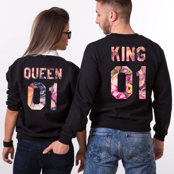 Galaxy, King 01, Queen 01, Black