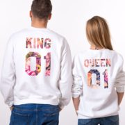 King 01, Queen 01, White, Galaxy