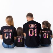 Family Flower Shirts, Fleur Collection, Matching Family Shirts