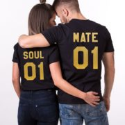 Soul 01, Mate 01, Black/Gold