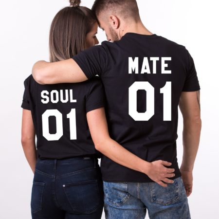 Soul Mate Shirts, Soul Mate 01 Shirts, Matching Couples Shirts