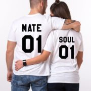 Soul 01, Mate 01, White/Black