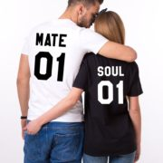 Soul 01, Mate 01, White/Black, Black/White