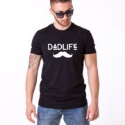 Dadlife Shirt, Black/White