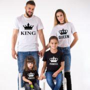 King, Queen, Prince, Princess, White/Black, Black/White