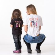 Queen 01, Princess 01, Black, White