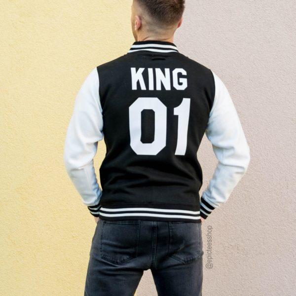 Varsity Jacket, King 01, Back