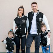 Varsity Jacket, King 01, Queen 01, Prince 01, Princess 01