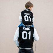 Varsity Jacket, King 01, Prince 01