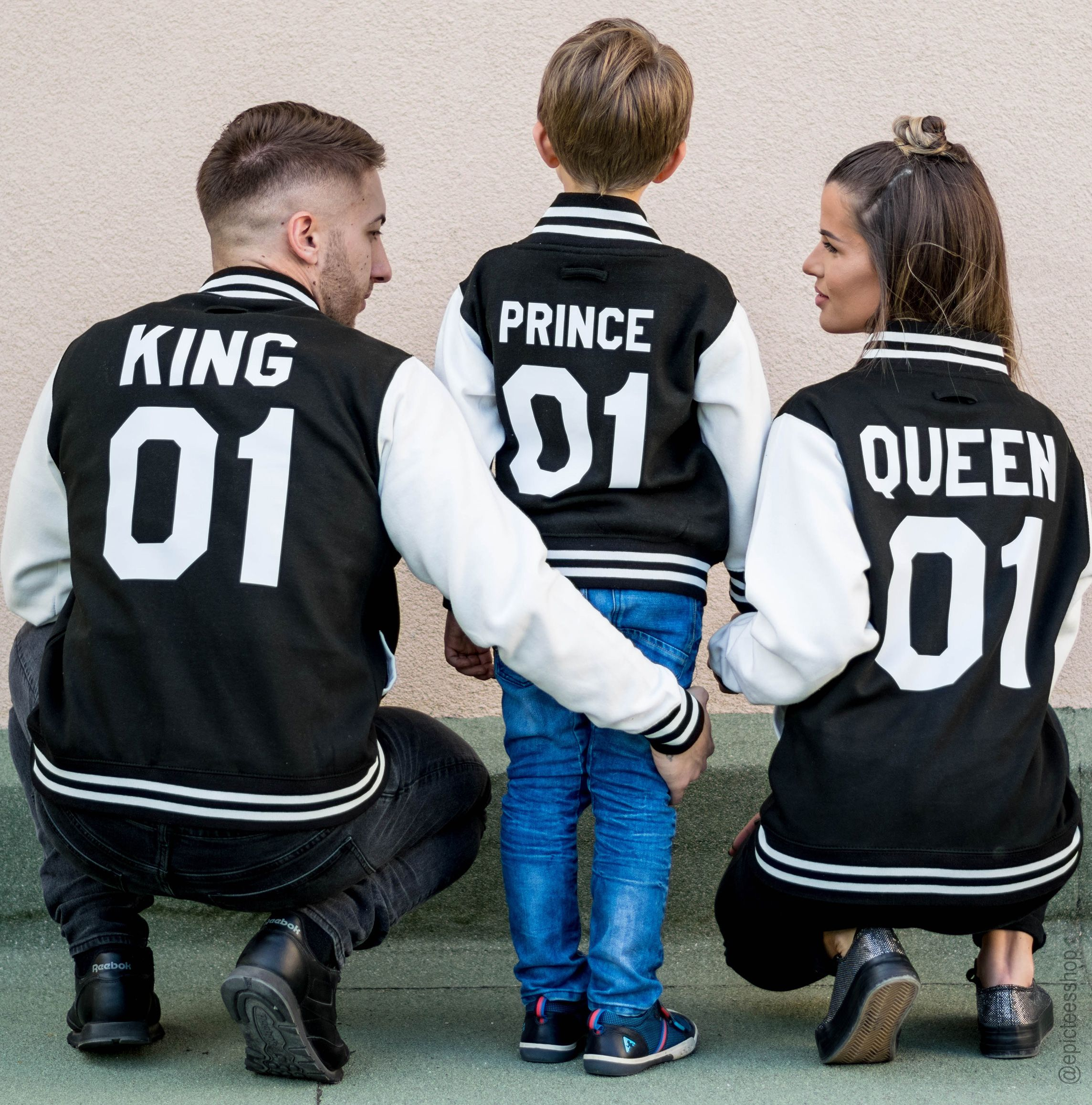 King 01 Queen 01 Prince 01 Varsity Jackets College