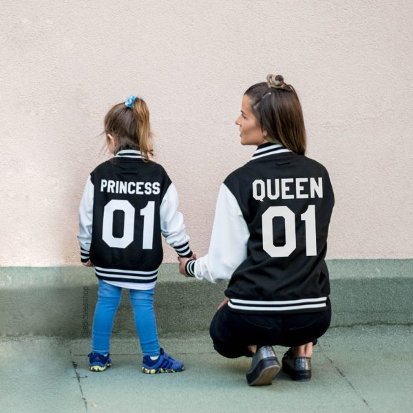 Varsity Jacket, Queen 01, Princess 01
