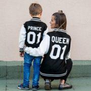 Varsity Jacket, Queen 01, Prince 01