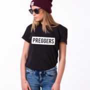 Preggers Shirt, Black/White