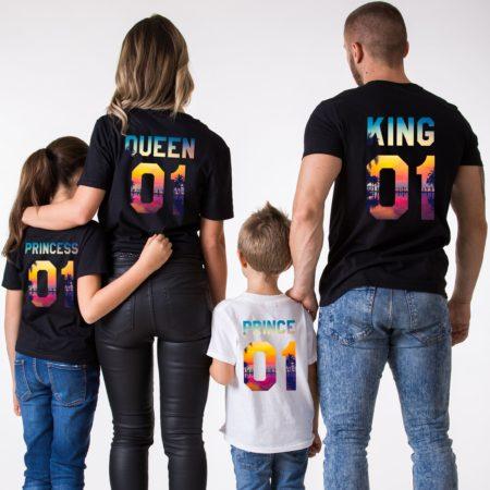 Family Vacation Shirts, King, Queen, Prince, Princess