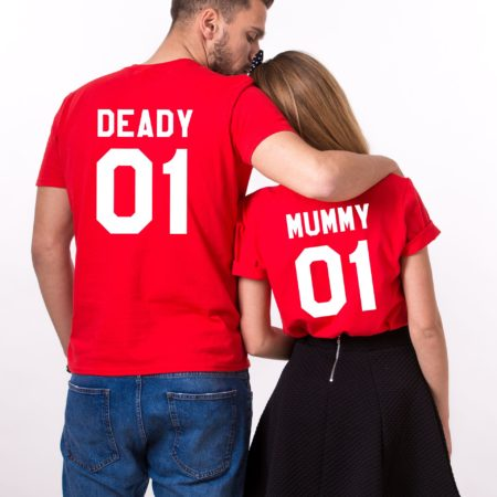 Deady 01 Mummy 01, Halloween Shirts, Matching Family Shirts, UNISEX