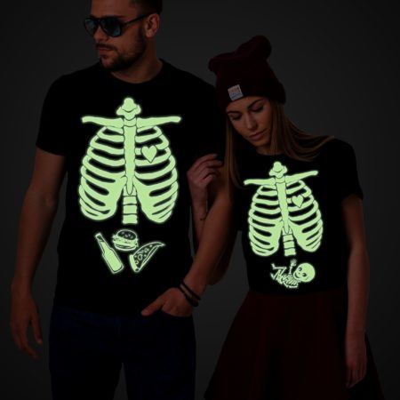 Maternity Shirt, Halloween Skeleton Shirts, Baby Boy, Couples Shirts