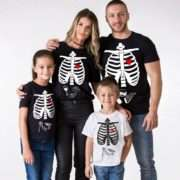 Halloween Family Shirts, Skeleton Shirts, Maternity Shirt