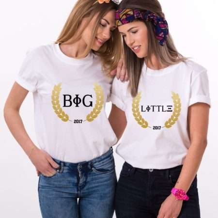 Sisterhood Shirts, Big Little, Custom Year, Matching Best Friends Shirts