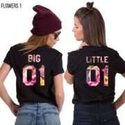 Big Little Shirts, Pattern, Matching Best Friends Shirts