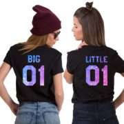 Big Little Shirts, Pattern, Matching Best Friends Shirts