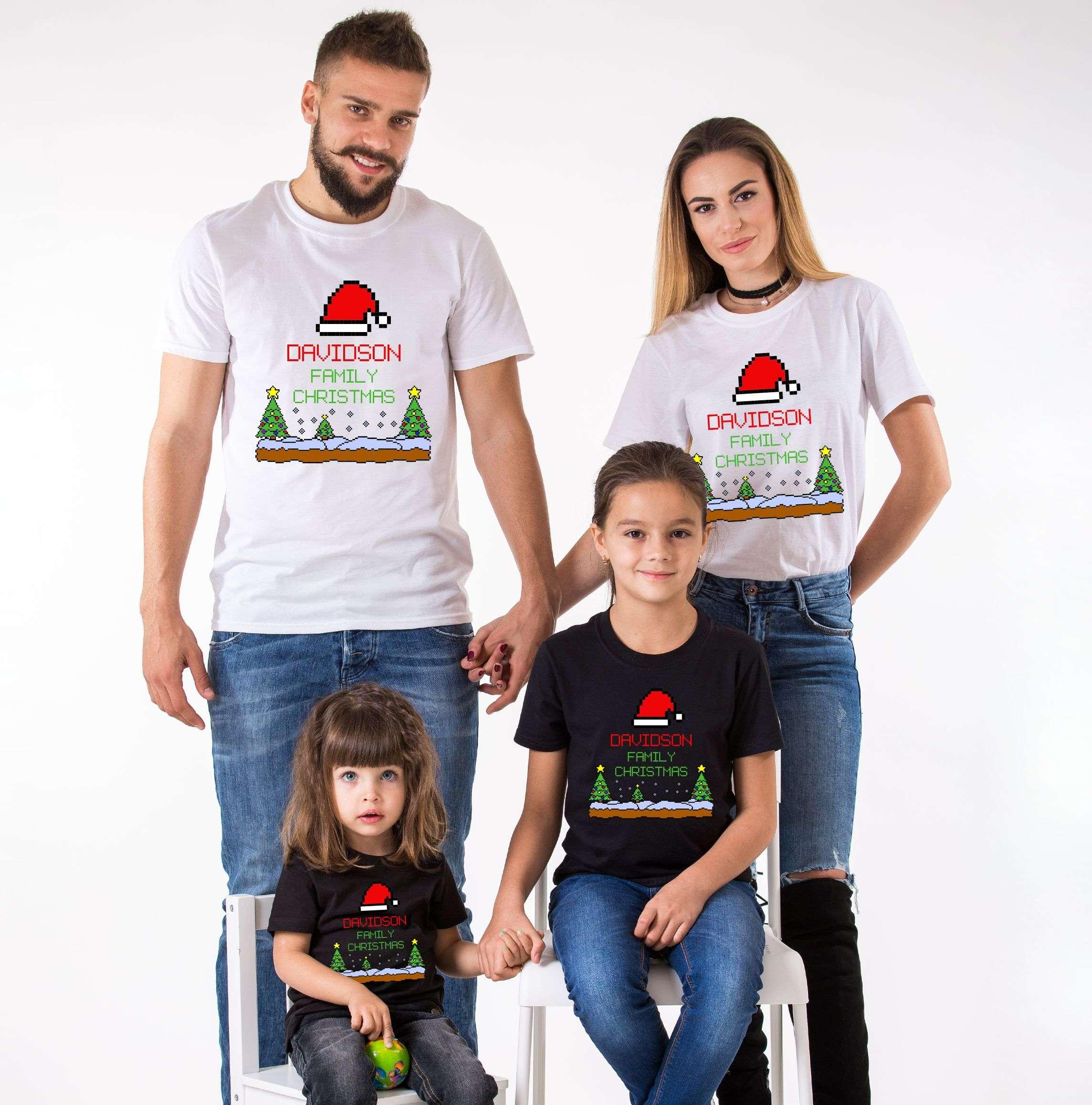 Matching Family Christmas Outfits Australia.Matching Christmas Shirts Australia Toffee Art
