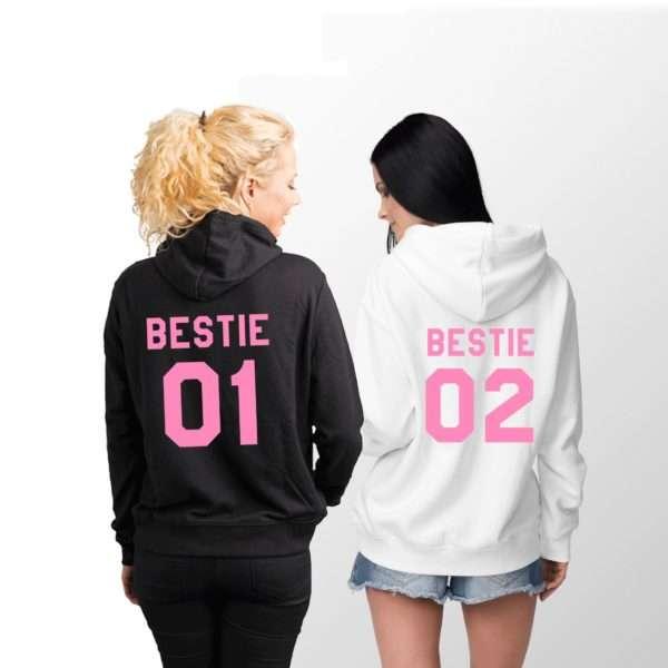 Bestie 01 Bestie 02 Hoodies