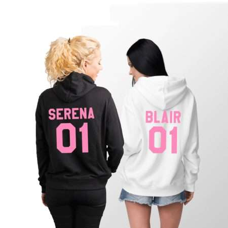 Serena 01 Blair 01 Hoodies