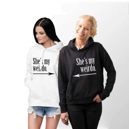 Best Friends Weirdo Hoodies