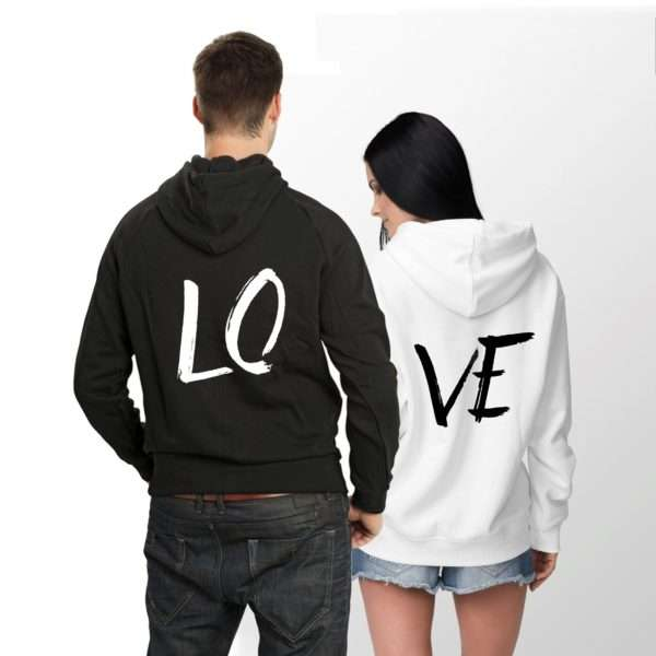 LOVE Hoodies for Couples