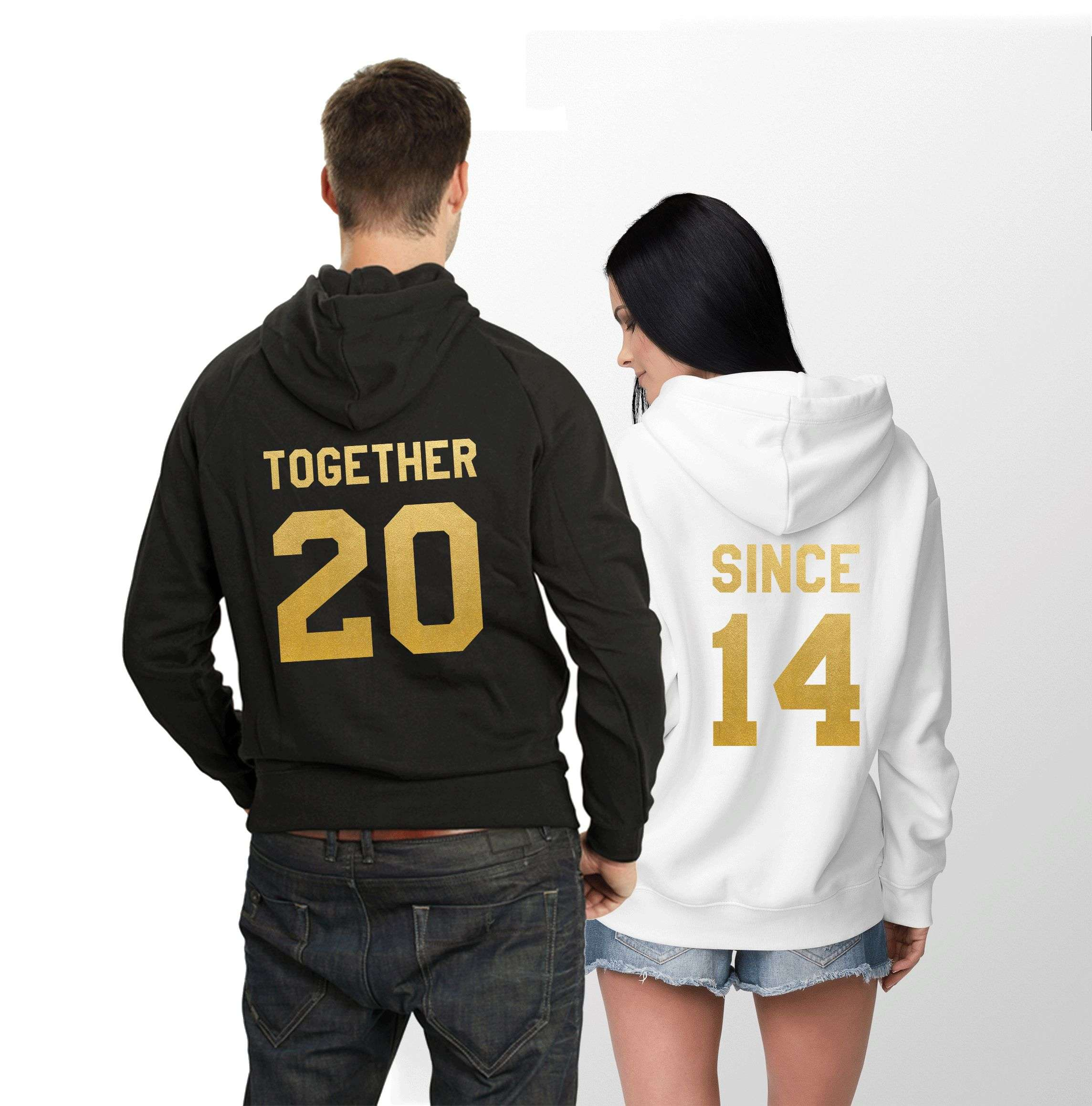 Together Since Hoodie Matching Couples Hoodies