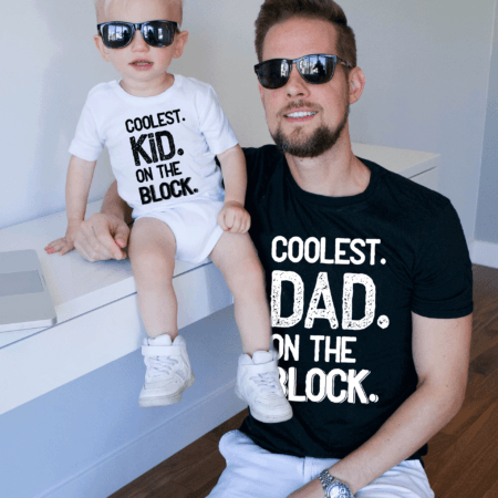 Coolest Dad on the Block shirt