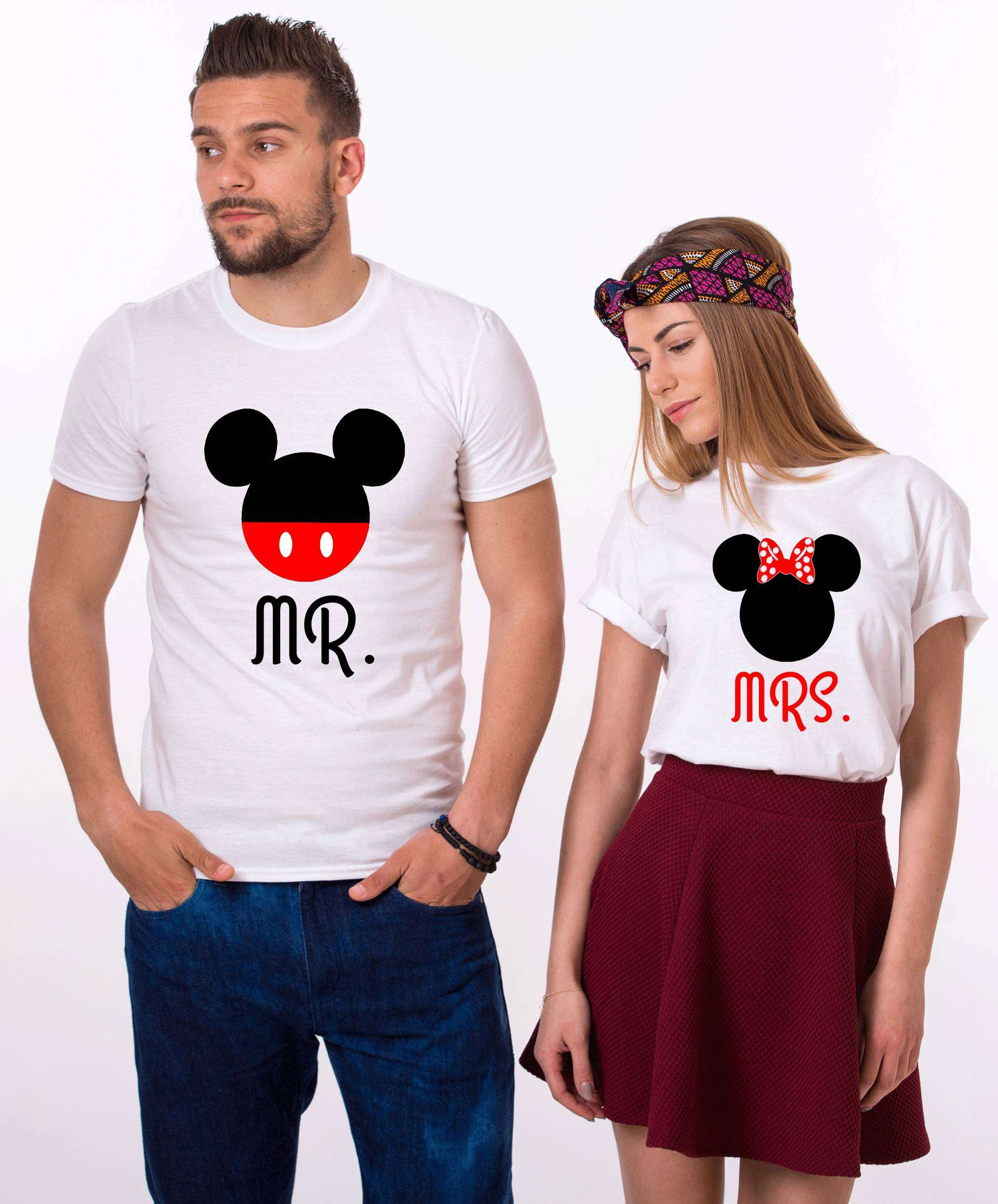 00a96599a9 Mr Mrs Mickey Shirts, Matching Couples Shirts, Anniversary Shirts