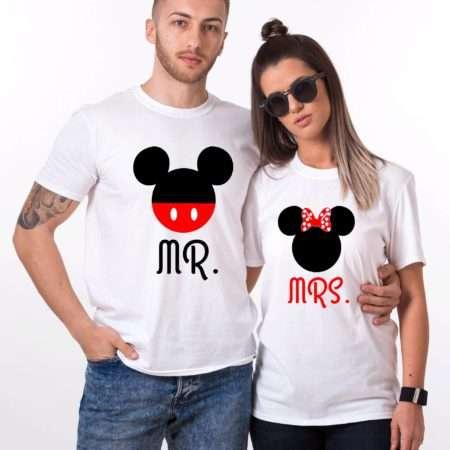 Mr Mrs Mickey Shirts, Matching Couples Shirts, Anniversary Shirts