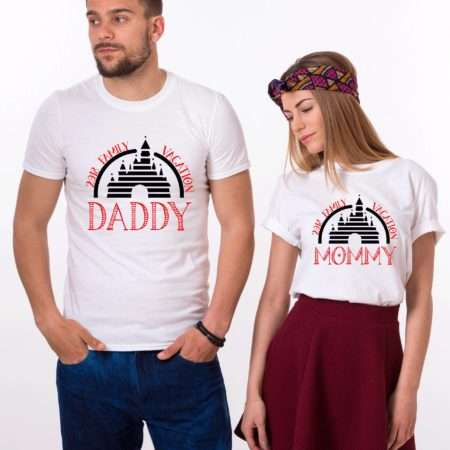 Mommy Daddy Vacation Shirts, Matching Family Shirts, Mickey Shirts