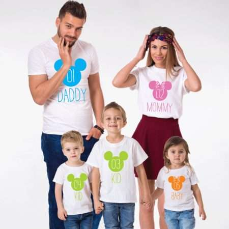 Mommy Daddy Baby Vacation Shirts, Matching Family Shirts
