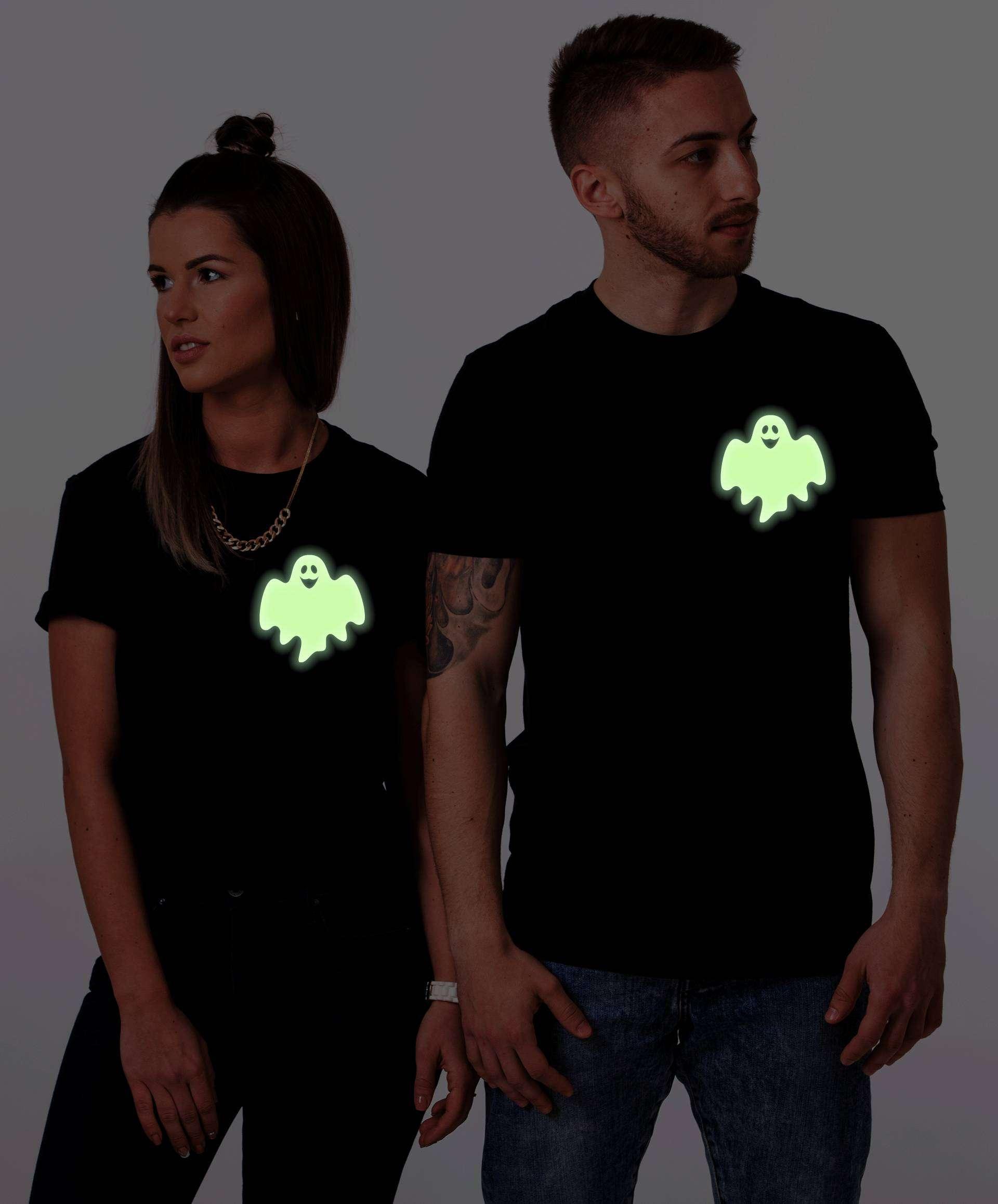 glow in the dark halloween shirts bat zombie ghost halloween shirts