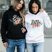 Big Little Hoodies, Matching Best Friends Hoodies