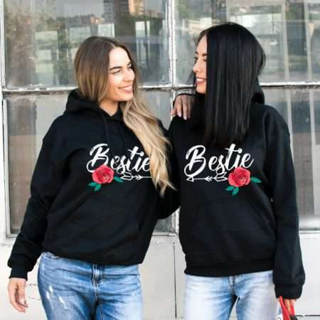 Bestie Hoodies, BFF Hoodies, Matching Best Friends Hoodies