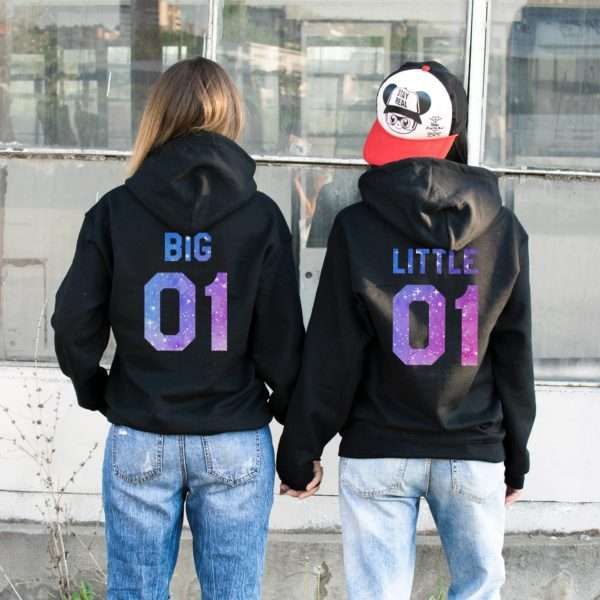 Big Little 01 Hoodies, Matching Best Friends Hoodies