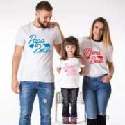 Bear Family Shirts, Mama Bear, Papa Bear, Baby Bear, Matching Shirts