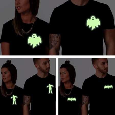 Glow in the Dark Halloween Shirts, Bat, Zombie, Ghost, Halloween Shirts