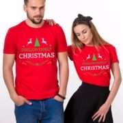 Ugly Christmas Custom Shirts, Christmas Couples Shirts