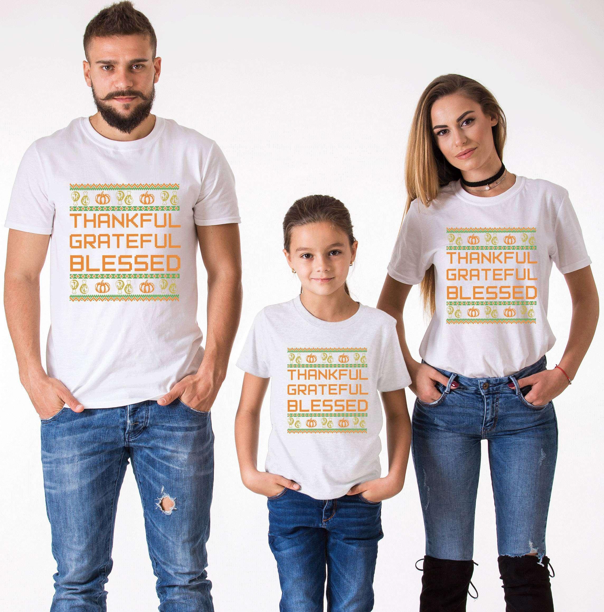 bede637e04f Family Thanksgiving Shirts
