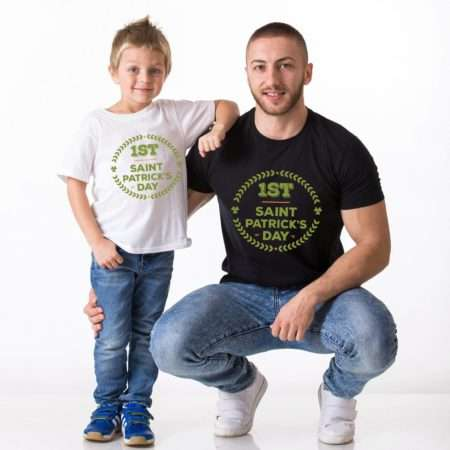 1st St Patrick's Day, Matching Family Shirt, St Patrick's Day Gift