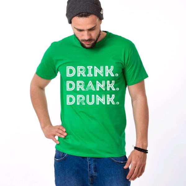 Drink Drank Drunk Shirt, St. Patrick's Day Shirt, Couples Shirts